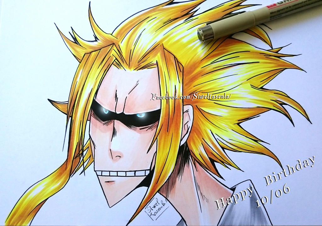 All might by SiwelTasenla