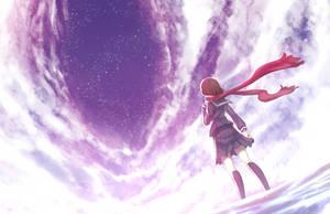 Ayano Goes Sky Gazing by Hananon