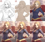 Supergirl (STEP BY STEP)