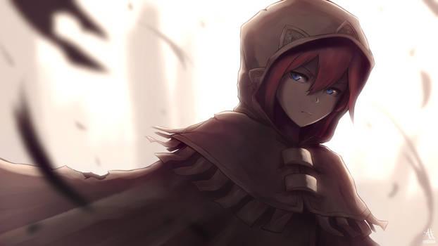 [047] Mysterious Girl CG