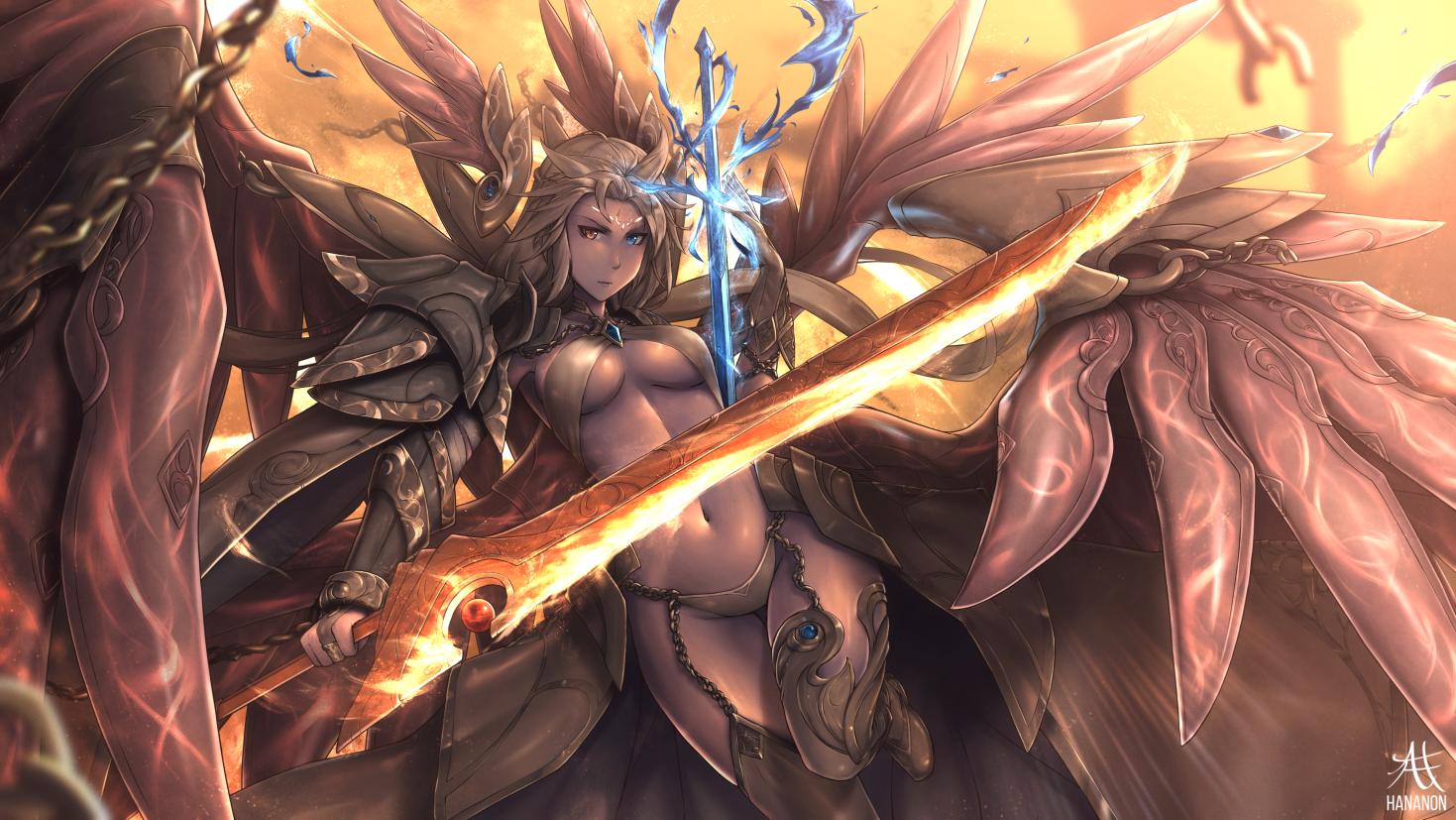 [064] Seraphim Nagisa CG (+Speedpaint) by Hananon