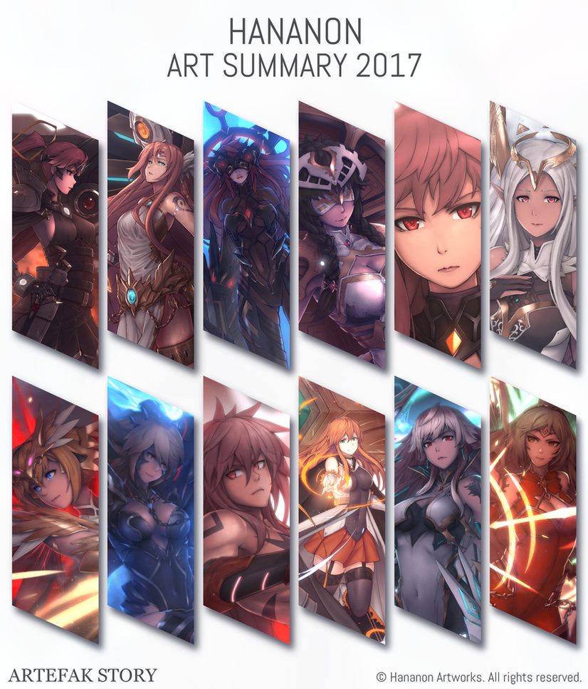 Art Summary 2017 by Hananon