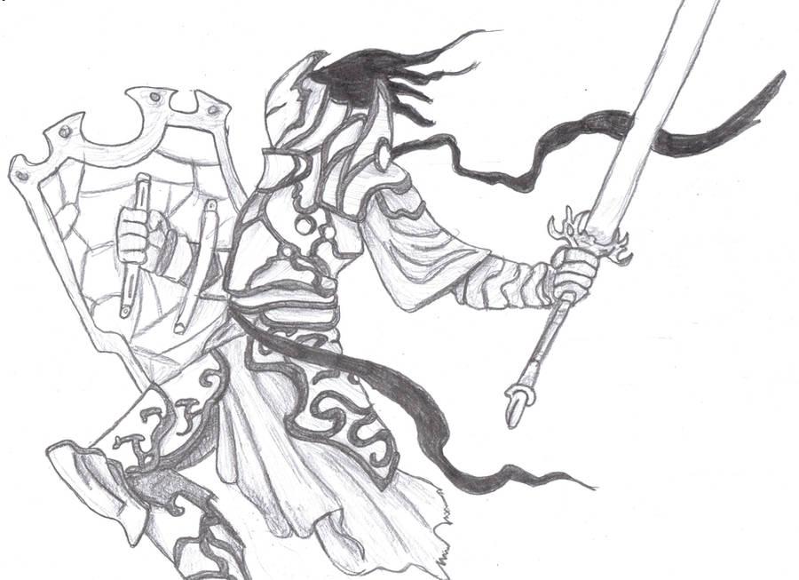 Quick Draw Knight By Kurosakixbecky On Deviantart