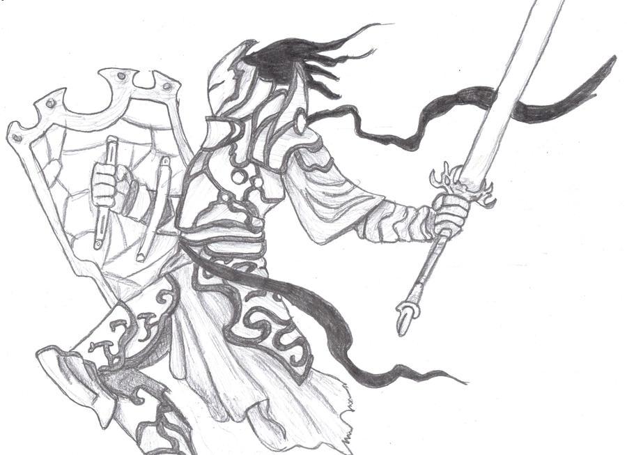 Quick Draw: Knight by KurosakixBecky on DeviantArt