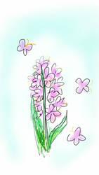 SKETCH A FLOWER
