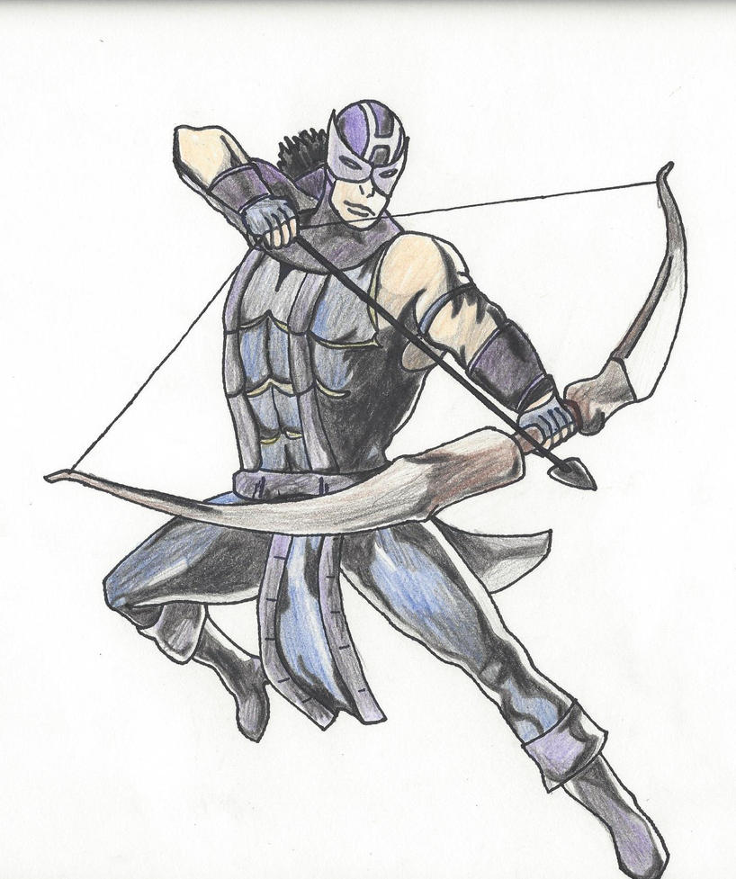 Comic Book Hawkeye by Equustar on DeviantArt