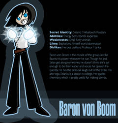 Bio- Baron von Boom by SelanPike
