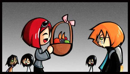 EvilFTW: Fruit baskets? by SelanPike