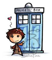 Sup TARDIS by SelanPike