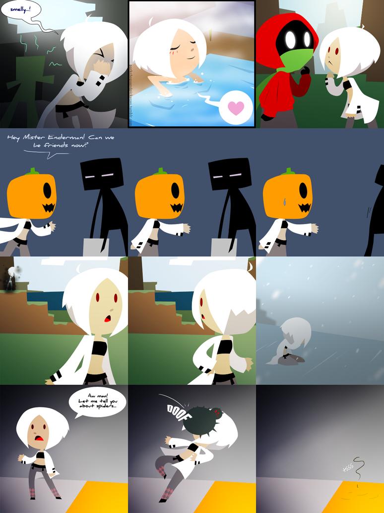 minecraft tumblr artdump by selanpike on deviantart