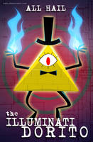 The Illuminati Dorito by SelanPike