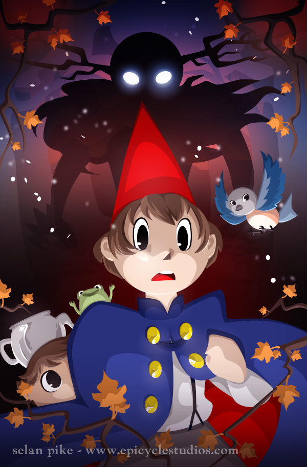 new over the garden wall poster by selanpike - Over The Garden Wall Poster