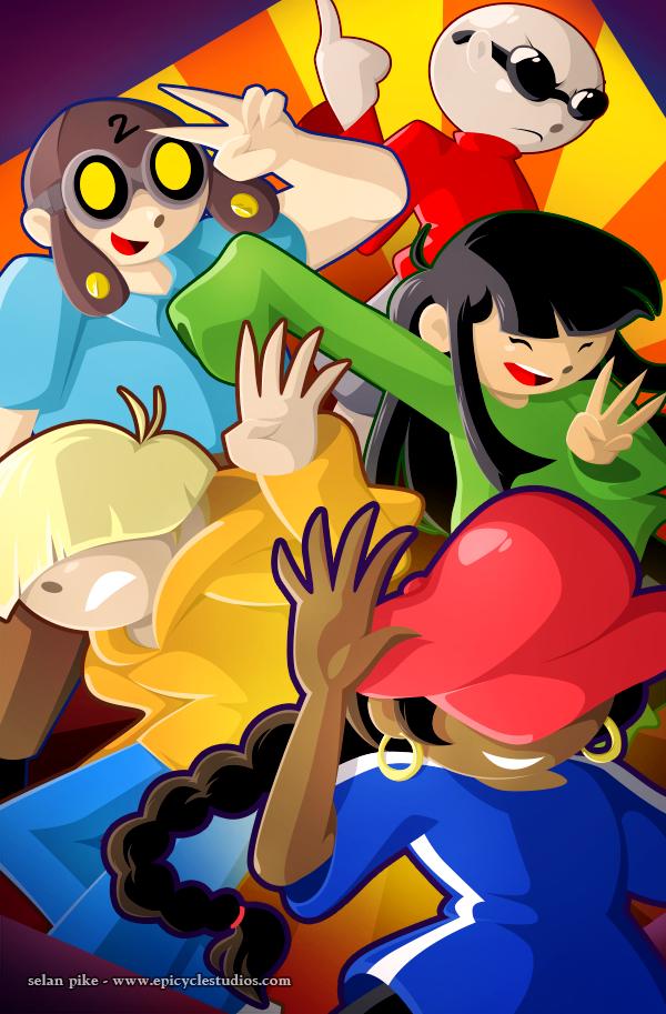 Kids Next Door poster by SelanPike