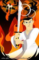 Samurai Jack poster by SelanPike