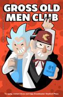Gross old men club by SelanPike