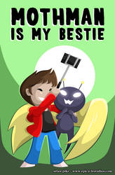 Mothman is my bestie by SelanPike