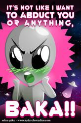 Tsundere Alien by SelanPike