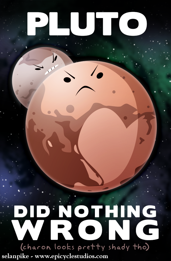 Pluto did nothing wrong by SelanPike