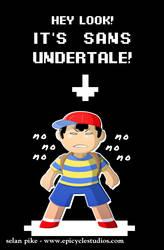 it's sans undertale!!