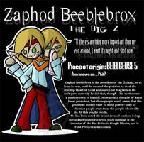 Zaphod Beeblebrox by SelanPike