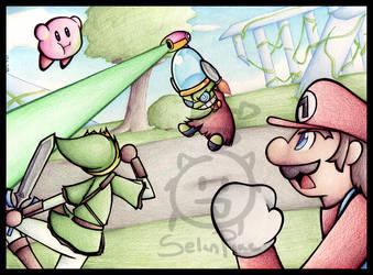 Super Smash Bros. FURY by SelanPike