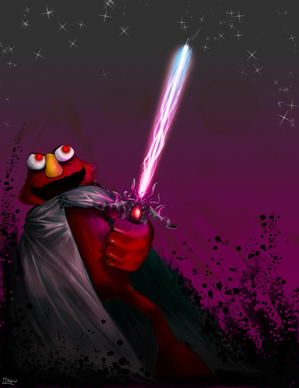 Darth Elmo by Qkew on DeviantArt