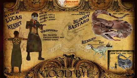Gwangi Gold Rush: Lucas Nesbit App by SteffiQueenOfTheNerd