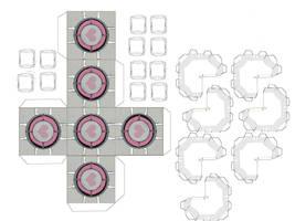 Portal 2 C.C. Papercraft by xXUsernameClicheXx