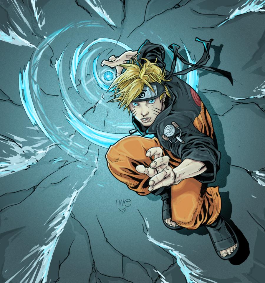 Naruto Rasengan: Color BA Naruto Rasengan By Bulletproofturtleman On DeviantArt