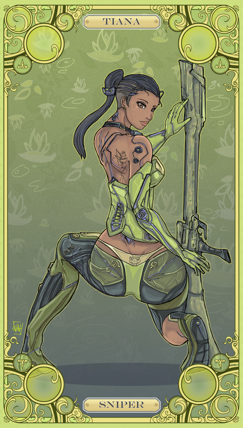 Disney Battle Princess Tiana by bulletproofturtleman