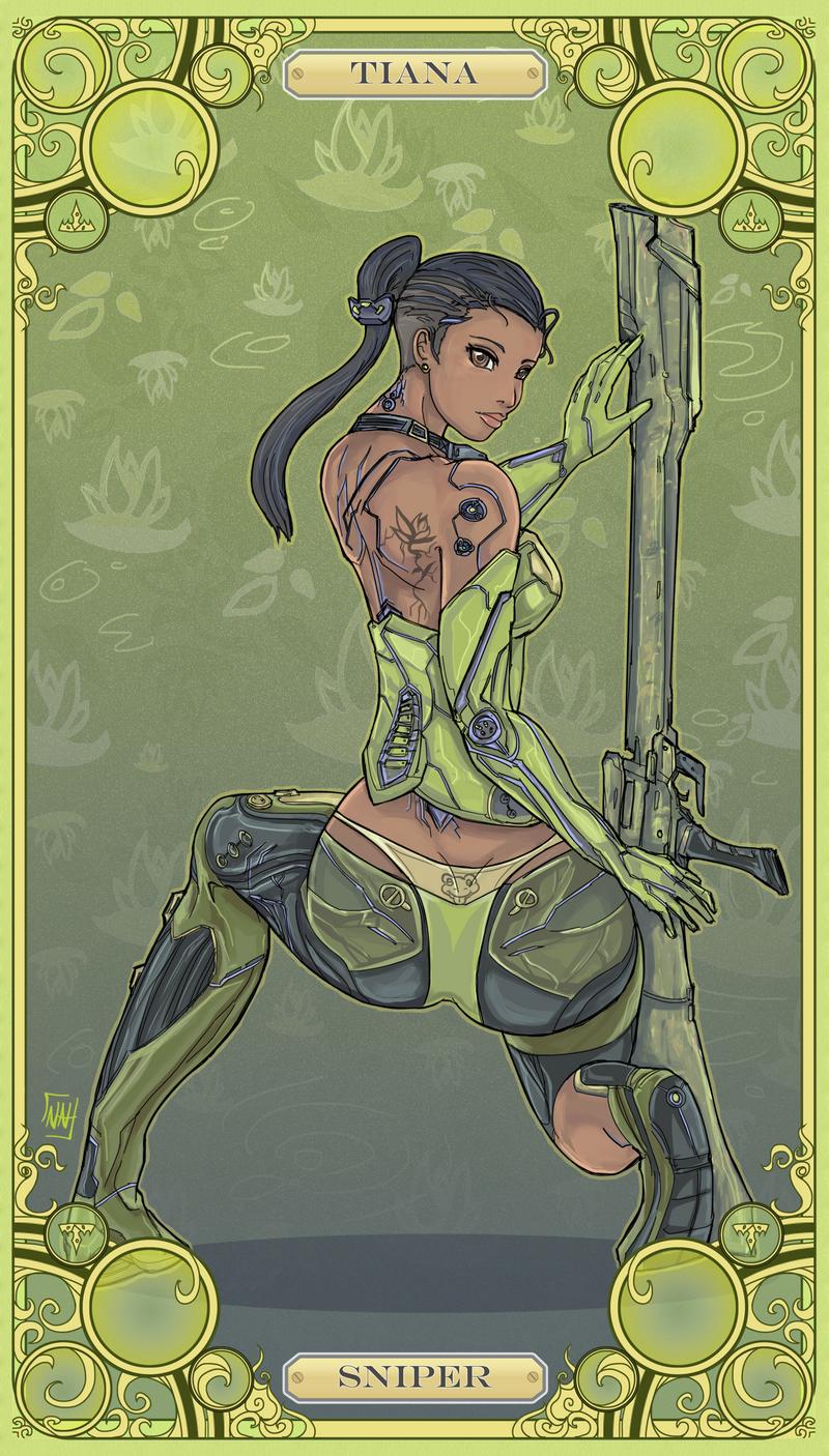 Disney Battle Princess Tiana by bulletproofturtleman