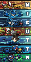 Mighty No9 tribute