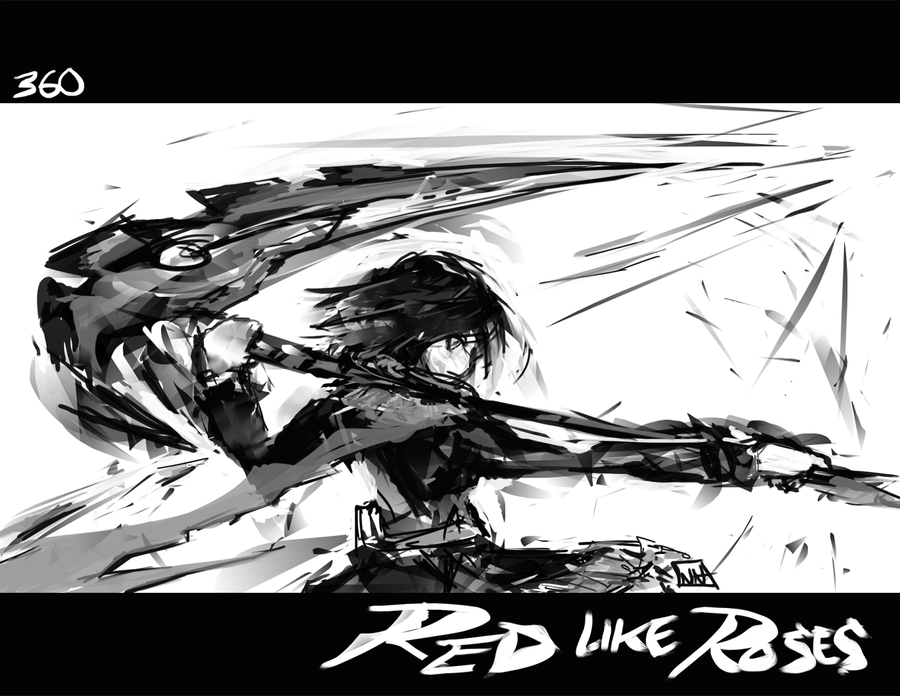 SMR 360 Red like Roses by bulletproofturtleman