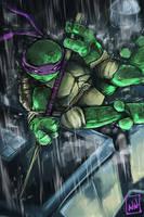 Donatello fullpaint by bulletproofturtleman