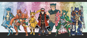 Pokemon Legends Team layout by bulletproofturtleman