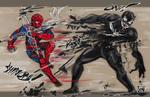 Shinobi Spider-man vs Oni Venom