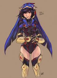 Gogo Raven by bulletproofturtleman