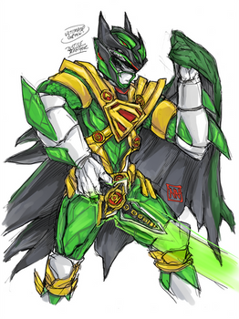 Ultimate Green Justice Ranger