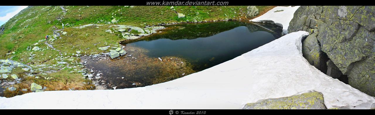 Mountain Lake by Kamdar