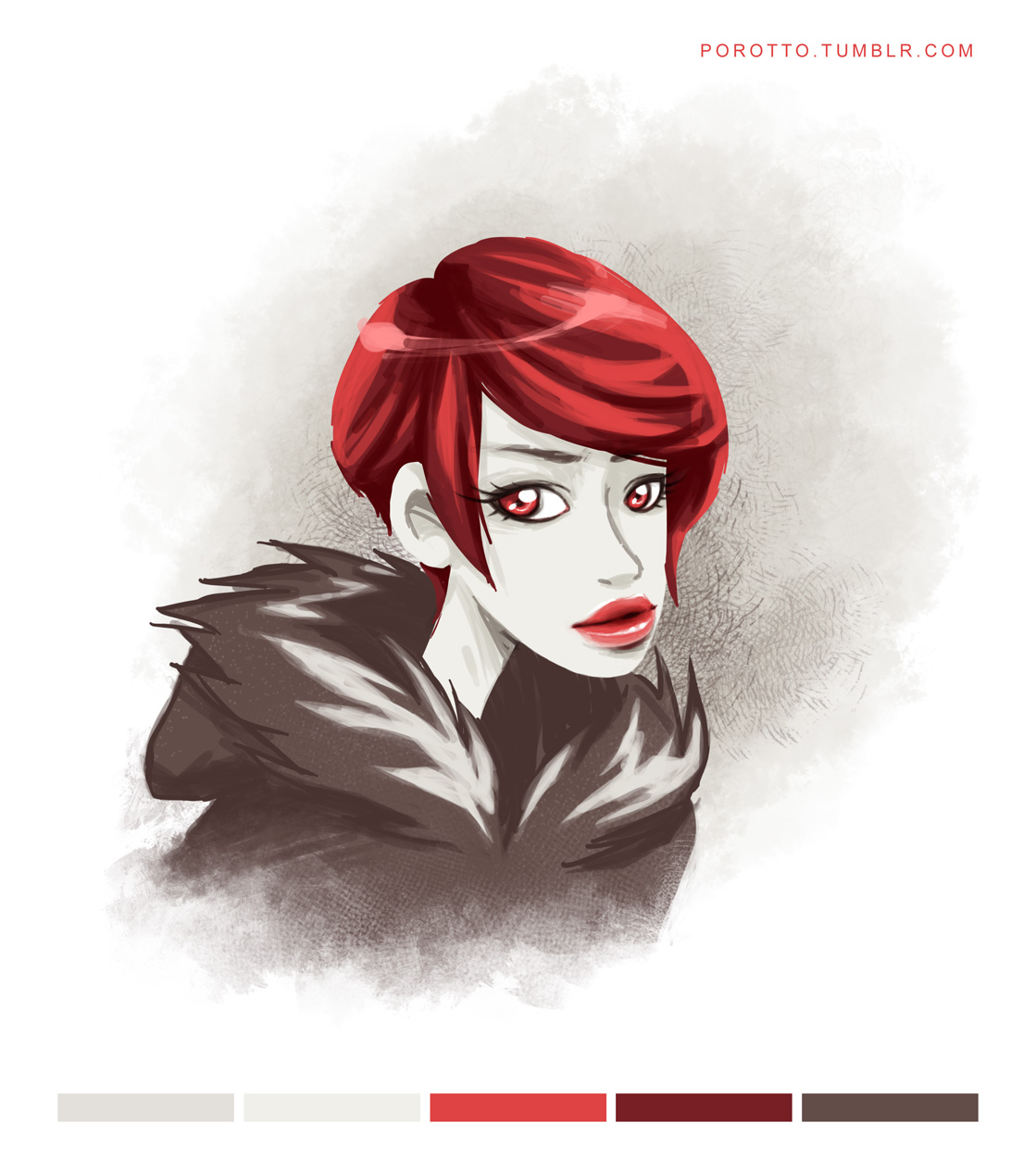 redhead by porotto