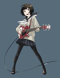 Guitar girl by KYMG
