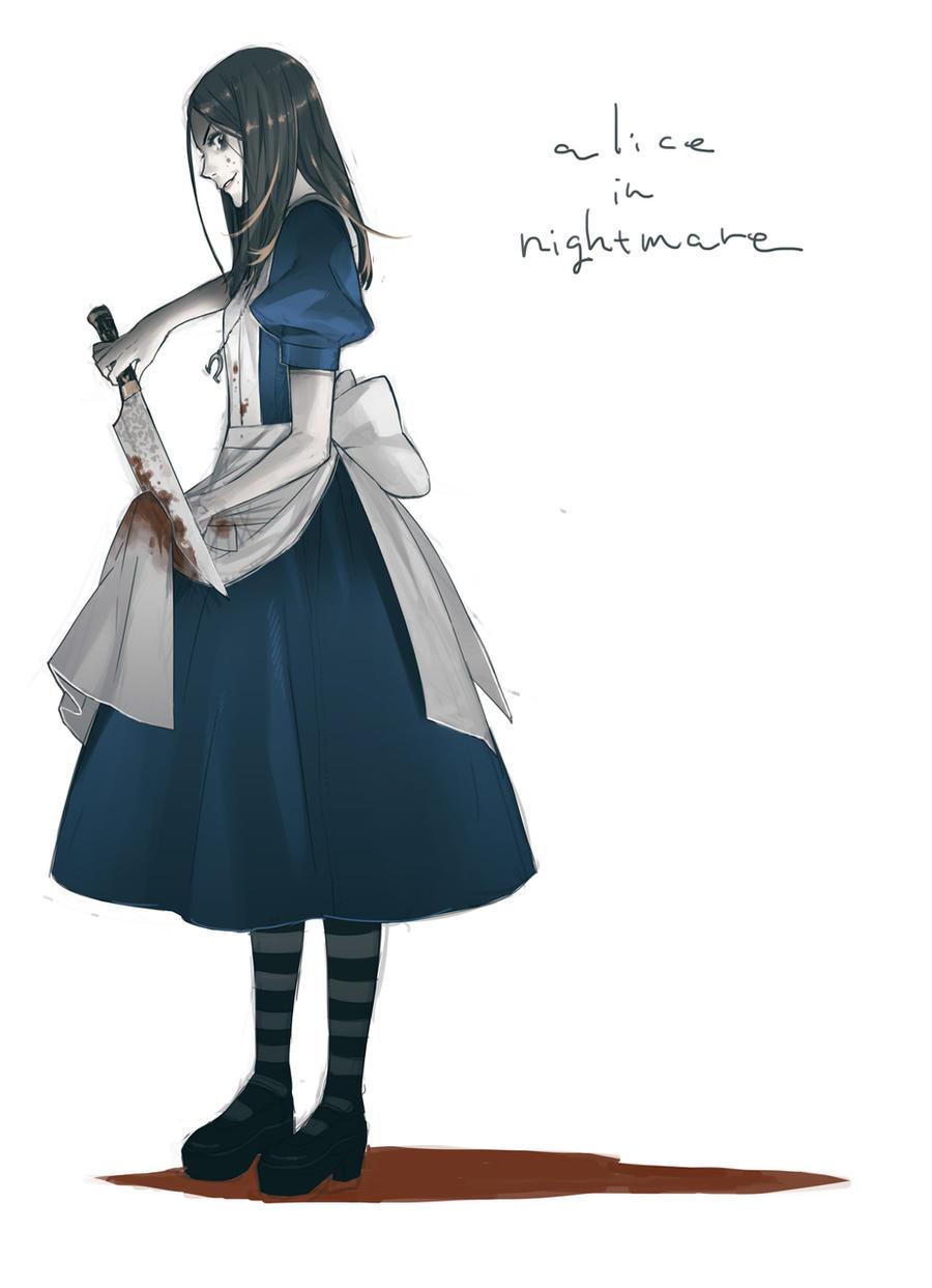 alice in nightmare by KYMG