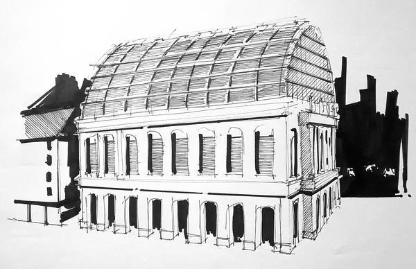 L'Opera de Lyon by Polyesterday