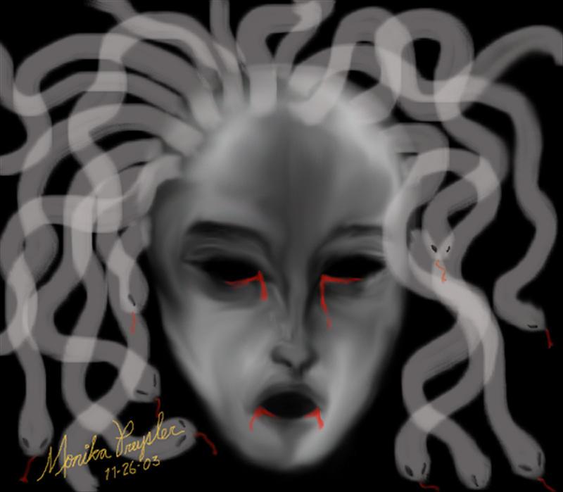 Blood Medusa by Ainasule