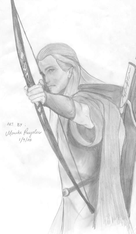 Legolas by Ainasule