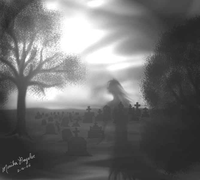 Cemetery by Ainasule