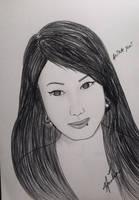 Quick Pencil Sketch by Ainasule