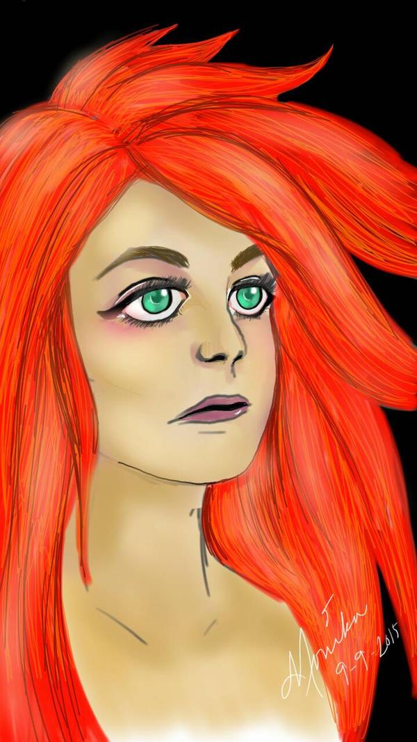 Red Hair by Ainasule