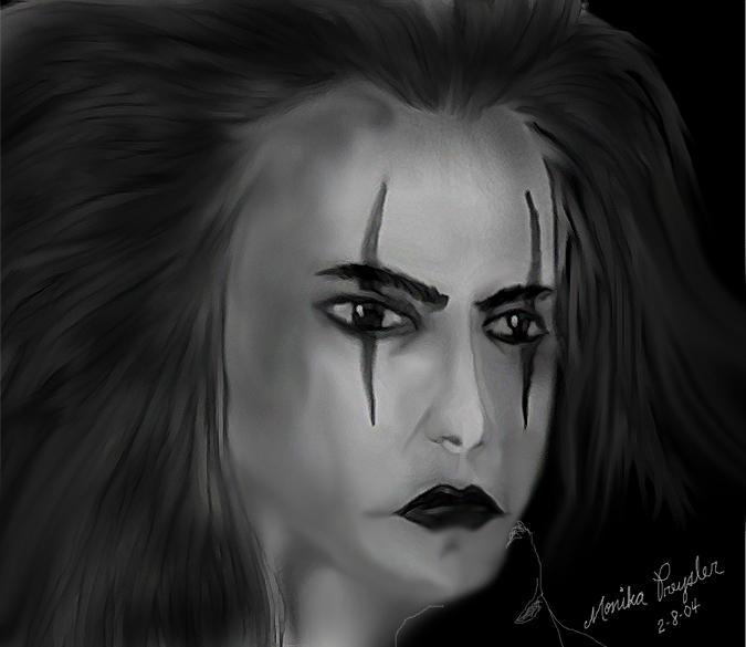 The Crow by Ainasule