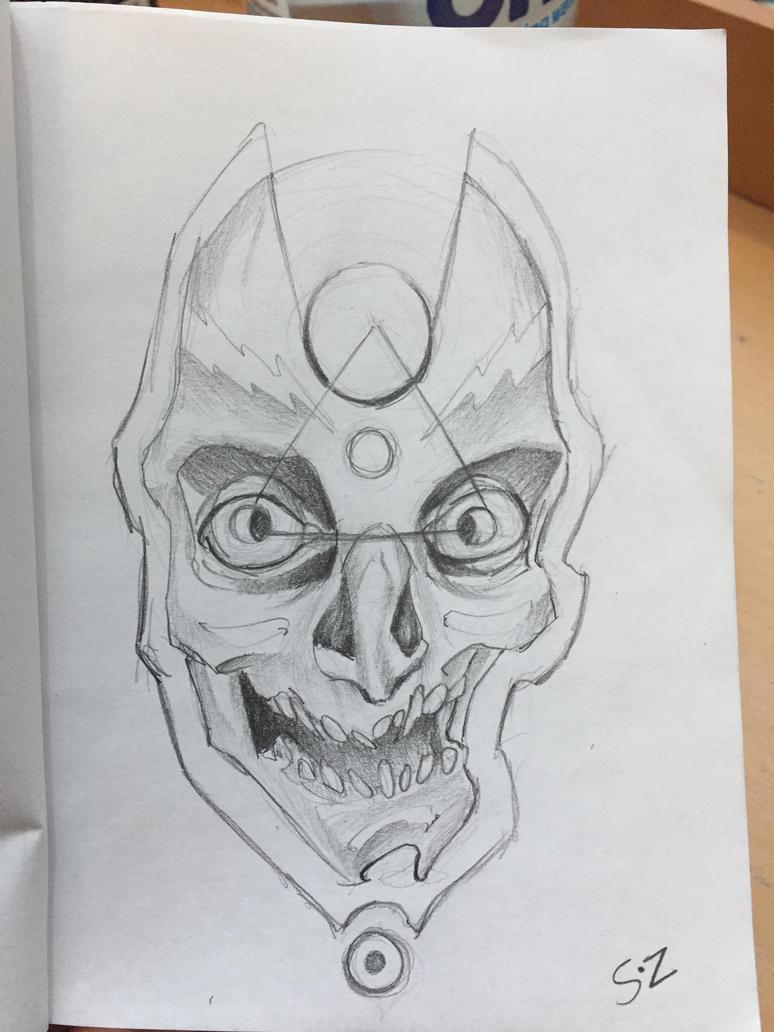 Crazy skulls by soozlillend
